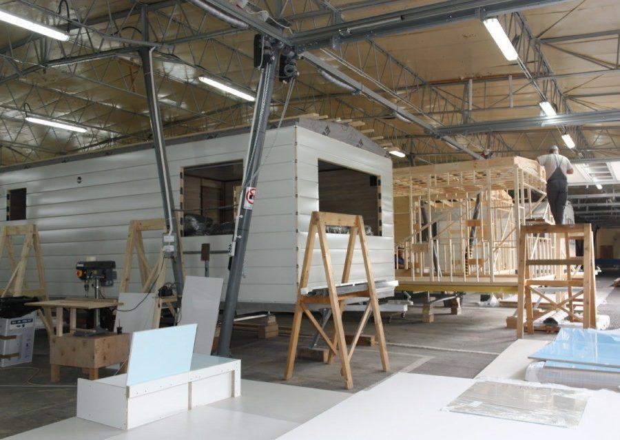 Domki holenderskie - Produkcja