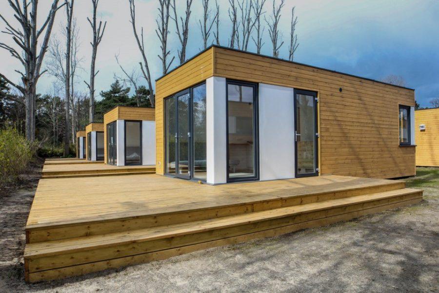 Dom kompaktowy drewniany - APARTAMENT