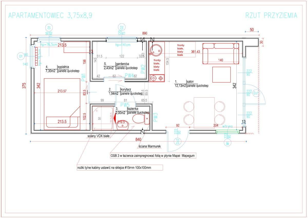 Dom kompaktowy - Apartamentowiec