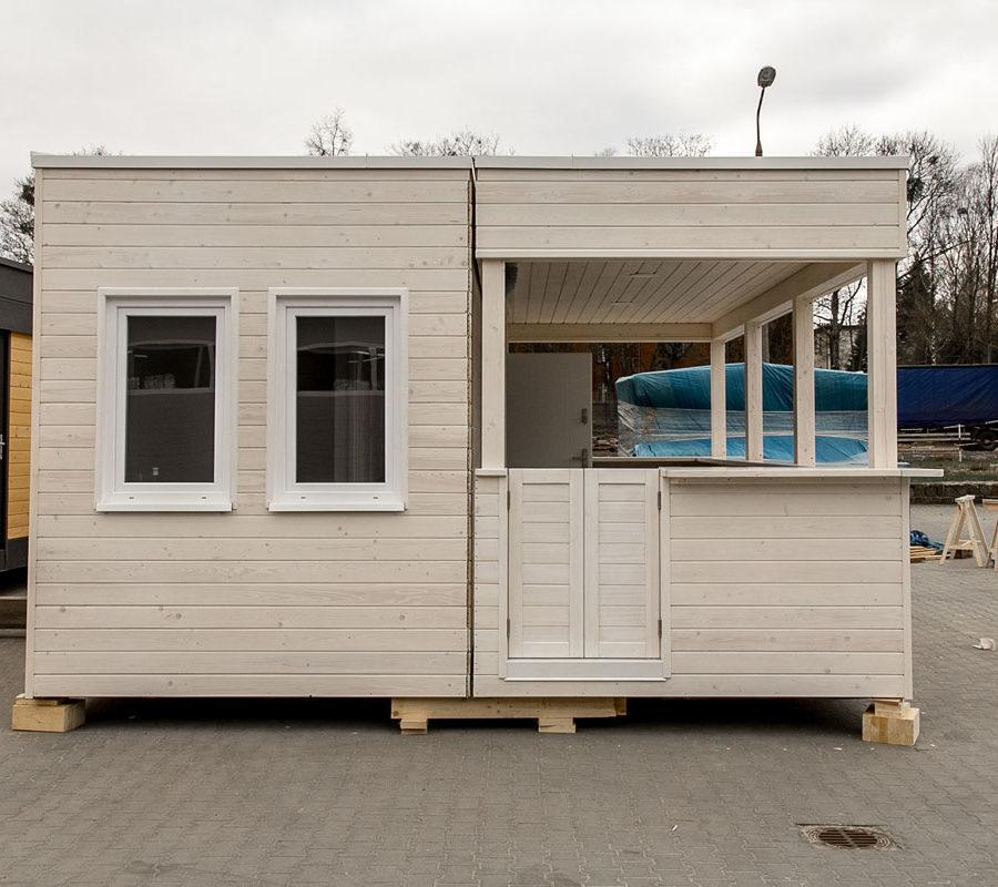Domy holenderskie Europa Campers - Beach Bar