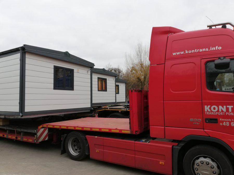 Jak wygląda transport domów mobilnych?