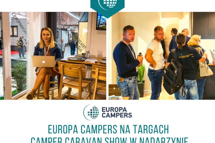 7 Europa Campers na targach turystycznych
