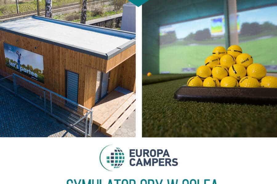 Golf Cube. Mobilny symulator gry w golfa