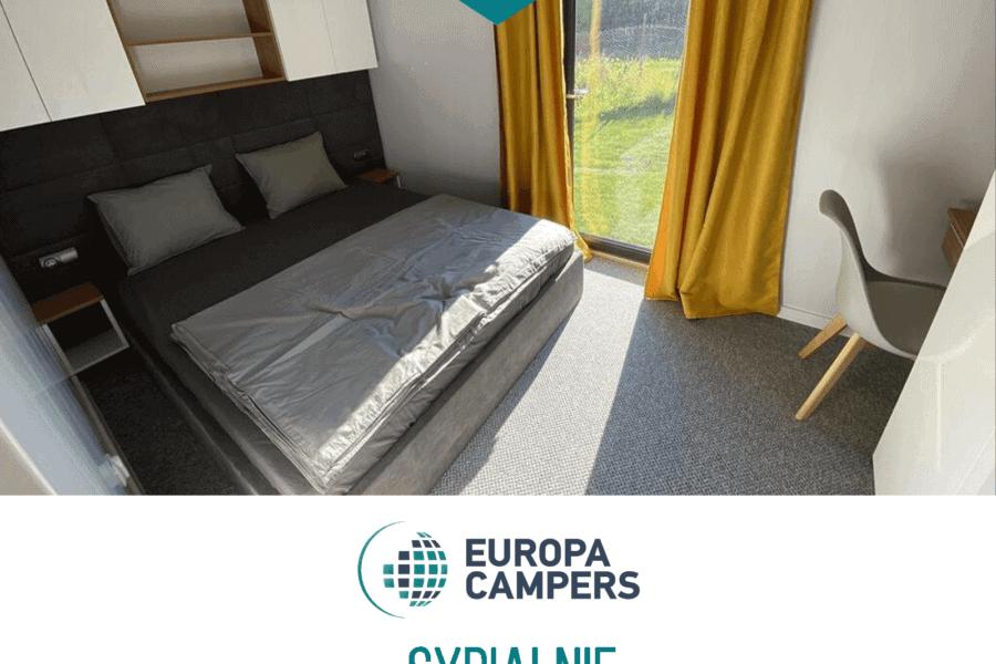 Sypialnie w domach mobilnych