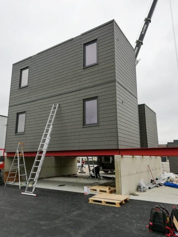 3 Czymożna łączyć domy modułowe? 20 domów mobilnych wNorwegii